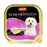 غذای کاسه ای ووم فیستن مخصوص سگ بالغ حاوی گوشت بوقلمون و بره
