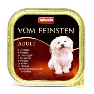 غذای کاسه ووم فیستن حاوی گوشت گوزن مخصوص سگ بالغ