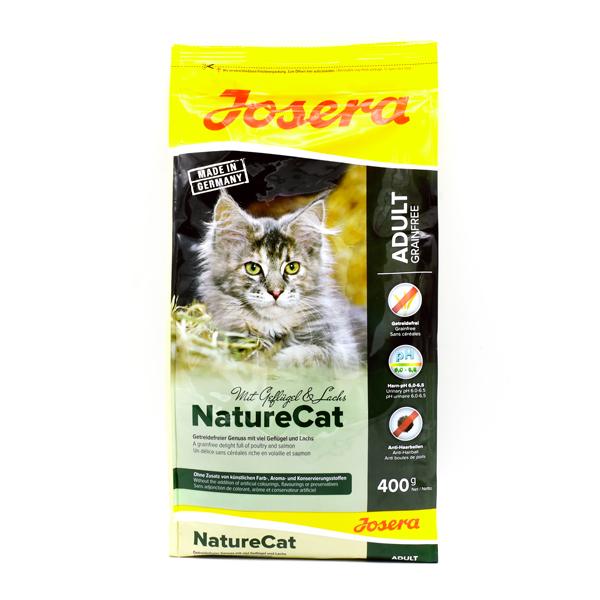 غذای خشک گربه جوسرا نیچرکت بدون غلات