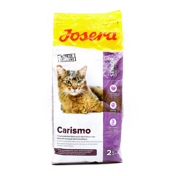غذای خشک carismo جوسرا جهت پیشگیری و بهبود بیماری های کلیوی و یا گربه های بالای 6 سال