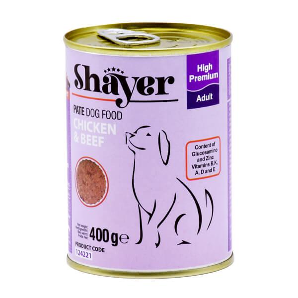 کنسرو سگ با طعم مرغ و گوشت قرمز کد 124221