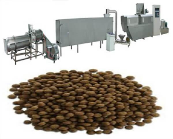 تجهیزات تولید غذای گربه