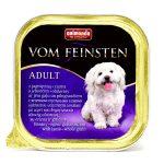 غذای سگ کاسه ای ووم فیستن حاوی گوشت بره و غلات125 گرمی