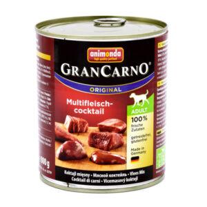 کنسرو گرن کارنو حاوی گوشت شکار و گوساله و مرغ
