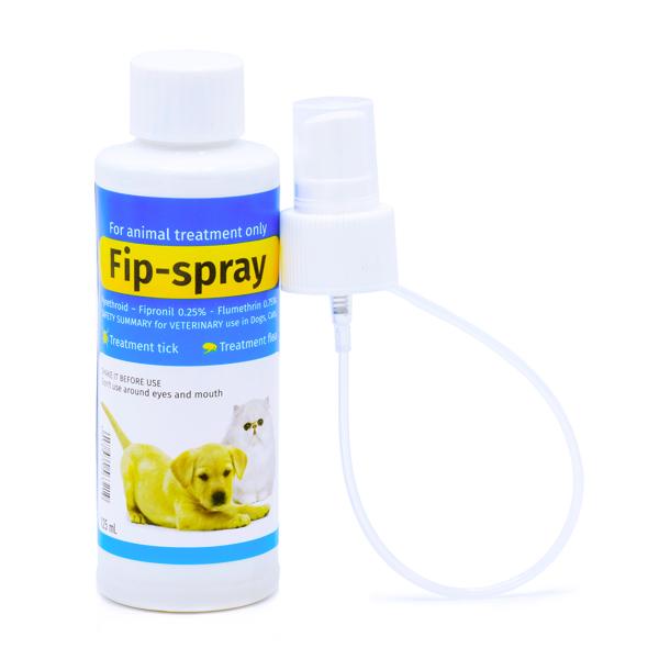 اسپری ضد کک و کنه مخصوص سگ و گربه Fip Spray