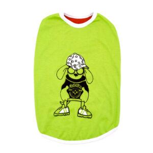 لباس مخصوص سگ در سه سایز و رنگ های مختلف سبز رنگ