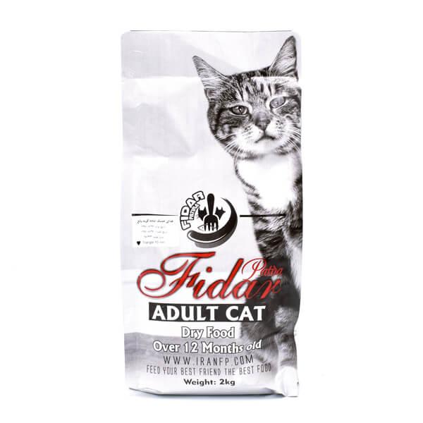 غذای خشک گربه بالغ، برند فیدار 2 کیلوگرمی