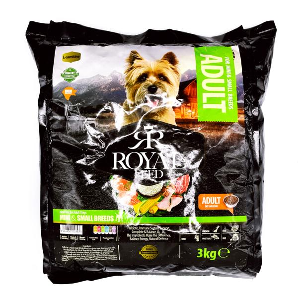 غذای سگ های کوچک و متوسط رویال فید Adult