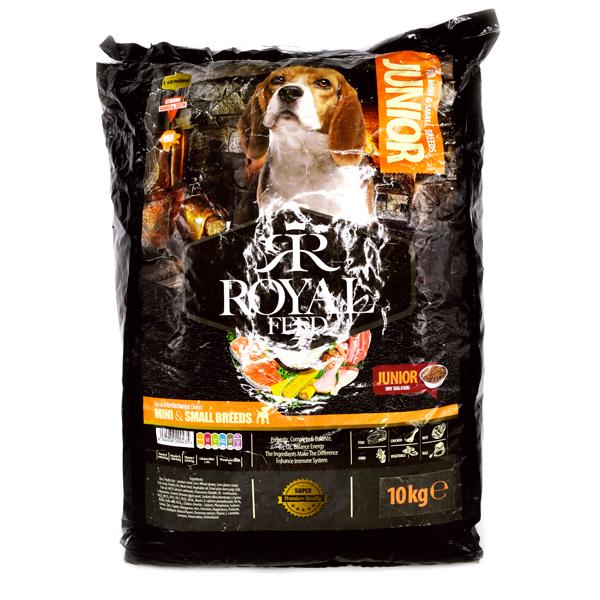 غذای خشک سگ رویال فید برای نژاد mini small