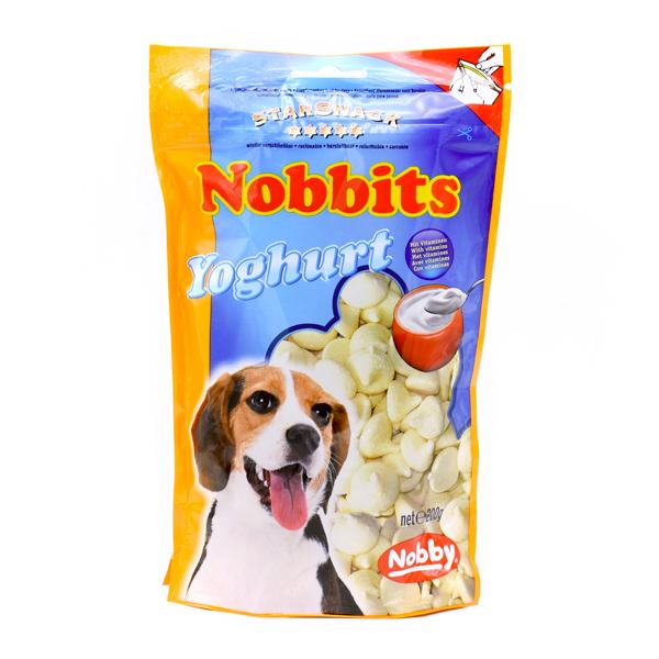 غذای تشویقی سگ نوبیتس با طعم ماست برند نوبی