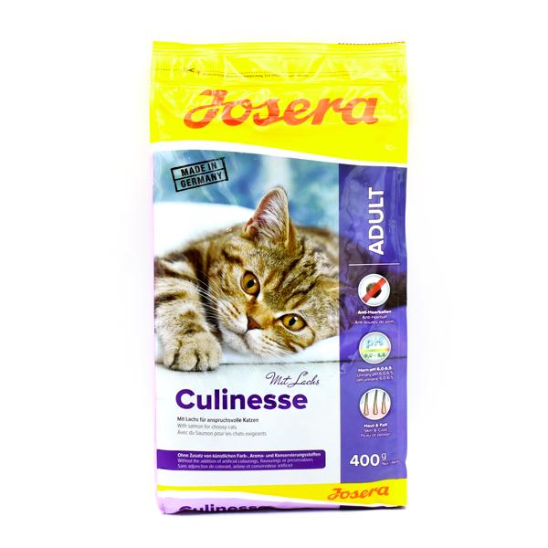 غذای خشک گربه جوسرا مدل CULINESSE حاوی گوشت پرندگان و سالمون