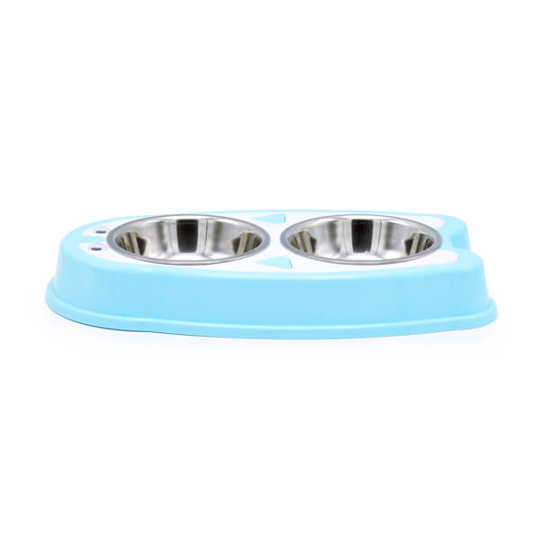 ظرف غذاخوری و آب خوری سگ مدل دوقلو