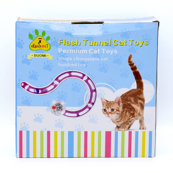 اسباب بازی گربه مدل تونل پنجره دار