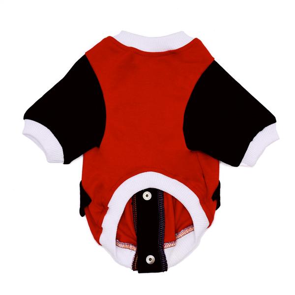 لباس مخصوص سگ کد 132 قرمز مشگی