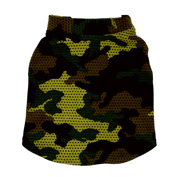 لباس مخصوص سگ کد L107 طرح چریکی