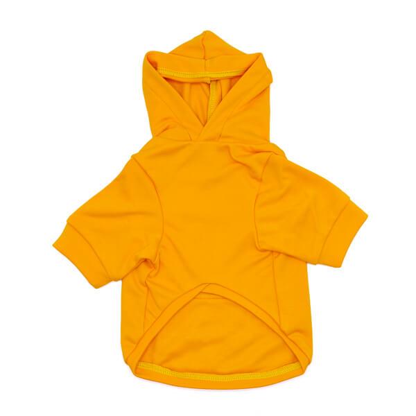 لباس سگ کد L111 طرح هودی زرد