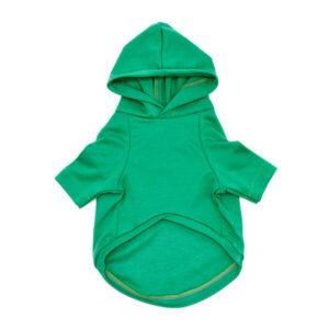 لباس سگ کد L108 طرح هودی سبز