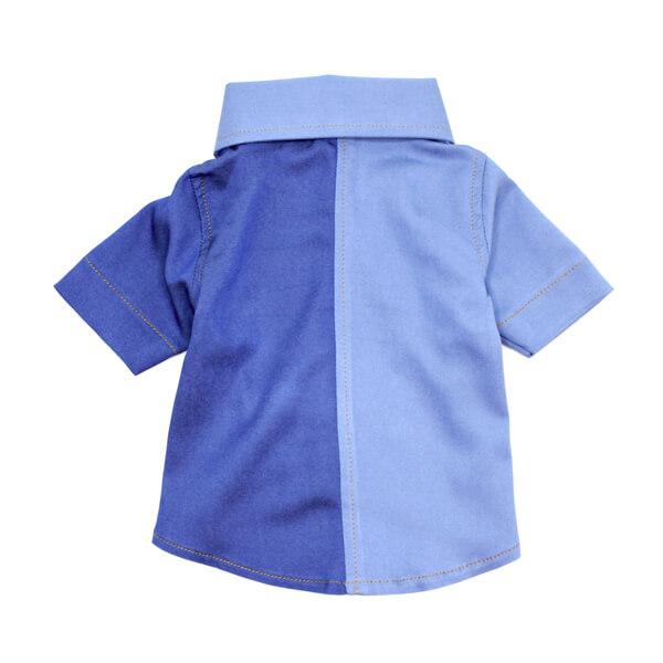 لباس سگ کد L142 آبی