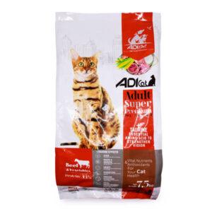 غذای خشک گربه سوپر پریمیوم 7/5 کیلویی کد 233