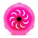 چرخ و فلک کریستالی همستر رنگ صورتی
