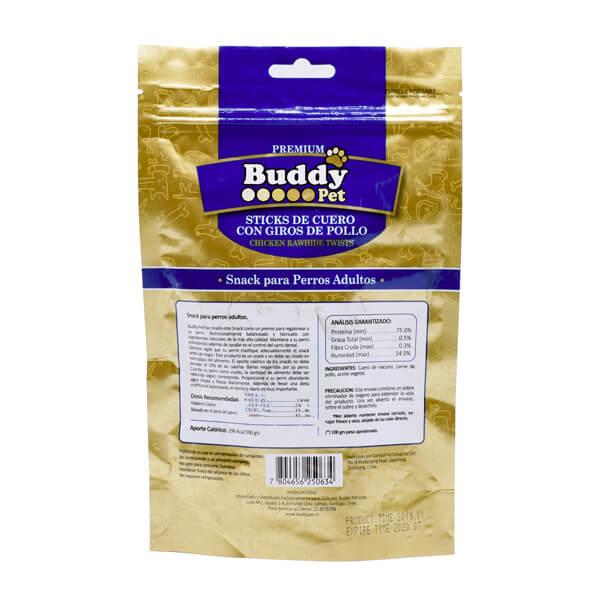 غذای تشویقی سگ با طعم مرغ و برنج Buddy کد TR-023
