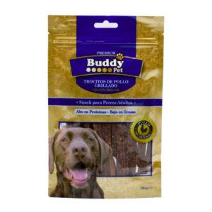 غذای تشویقی سگ Buddy با سینه مرغ کد TR-013 صد گرمی