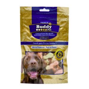 غذای تشویقی سگ Buddy بیسکویتی با دورپیچ مرغ کد TR-019