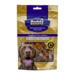 غذای تشویقی سگ Buddy با گوشت گوساله و پنیر کد TR-027 با وزن 100 گرم