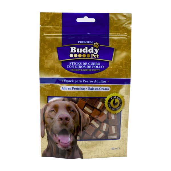 غذای تشویقی سگ با طعم گوشت گوساله با مرغ و پنیر Buddy کد TR-026
