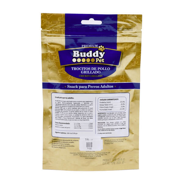 غذای تشویقی سگ با طعم اردک خشک شده Buddy کد TR-006