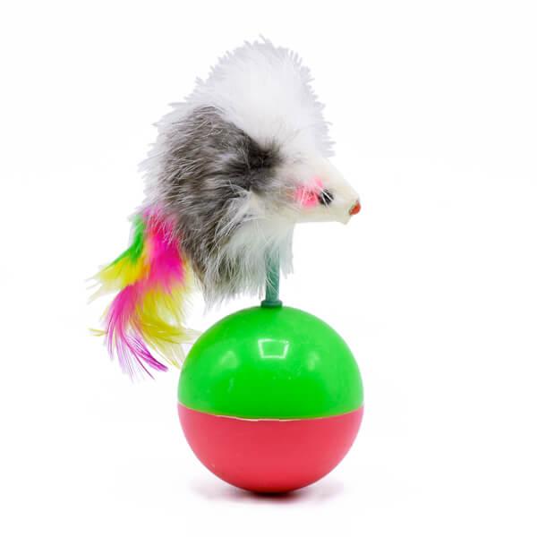 اسباب بازی گربه موش فنری کد AD090