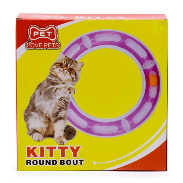 اسباب بازی گربه تونل پنجره دار کد CWT