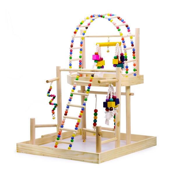 پارک بازی پرندگان خانگی (طوطی، کاسکو، عروس هلندی و...)