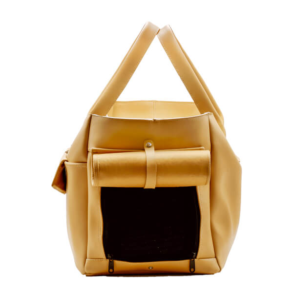 کیف حمل سگ چرمی کد 105