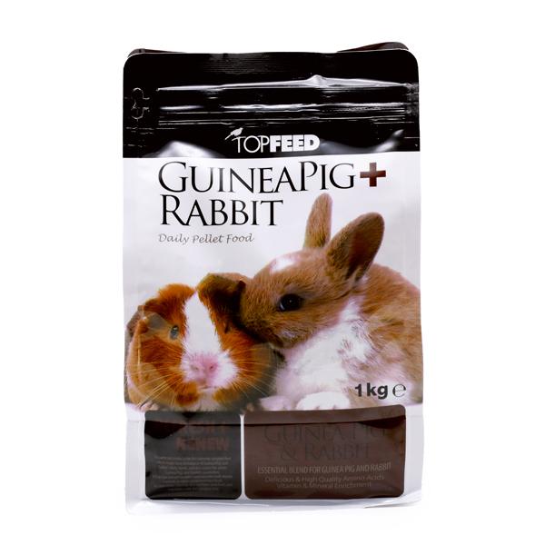 خوراک خرگوش و خوکچه هندی