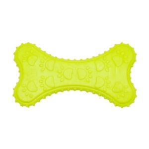 اسباب بازی دندانی سگ مدل استخوان کد 337 زرد