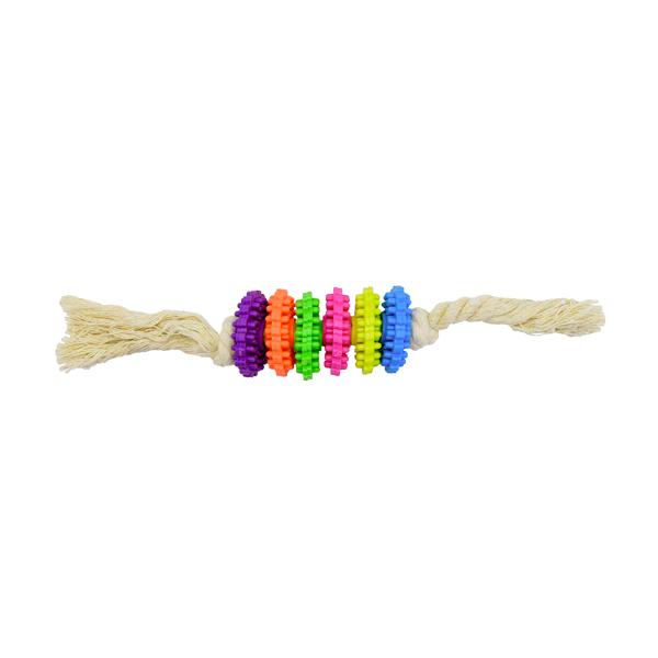 اسباب بازی سگ مدل دندانی طنابی کد285