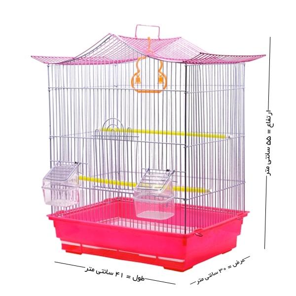 قفس پرنده کد 602
