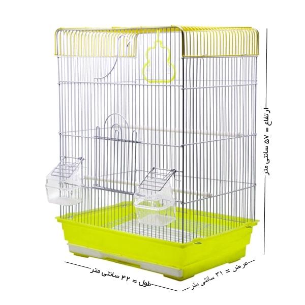 قفس پرنده کوچک کد 606