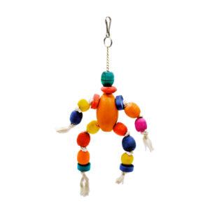 اسباب بازی پرنده مدل تخم مرغی و لوازم پرندهکدR21