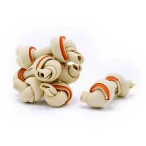 غذای تشویقی سگ فلوراید دار طرح استخوان سفید رنگ