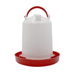 آبخوری پرنده 4 لیتری برند میگ میگ پت کدBA088 قرمز رنگ