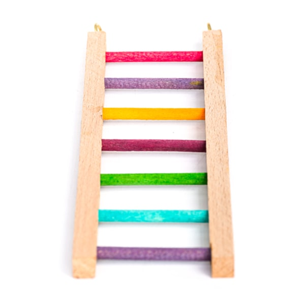 اسباب بازی پرنده مدل نردبان سایز 4 n4 رنگارنگ