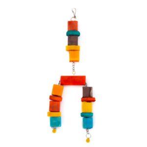 اسباب بازی پرنده کد BA022 برند میگ میگ پت رنگارنگ