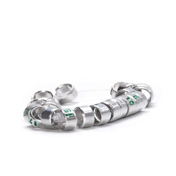 حلقه عروس هلندی آلومینیومی دست ساز
