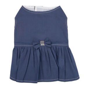 لباس سگ ست دخترانه و پسرانه کد DA105 آبی رنگ