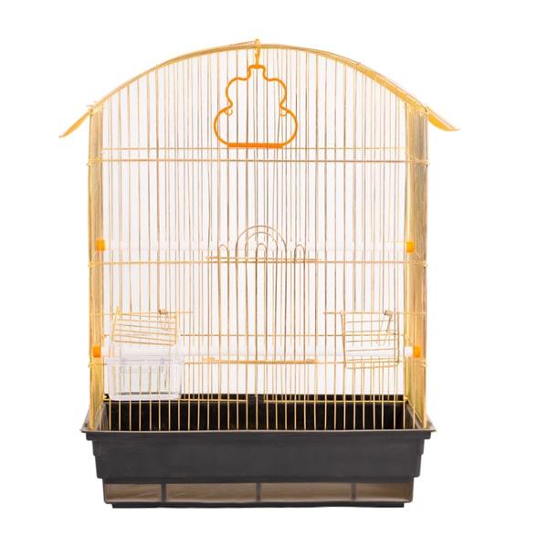 قیمت قفس پرنده رنگ طلایی کد 601 برند میگ میگ پت