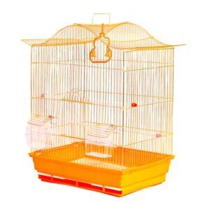 قفس پرنده رنگ طلایی کد 603 برند میگ میگ پت
