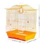قفس,قفس پرنده,قفس پرنده رنگ نارنجی