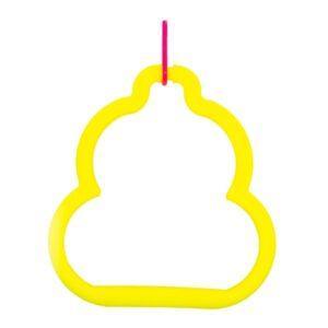 اسباب بازی طوطی مدل تاب پلاستیکی A x39 زرد برند میگ میگ پت